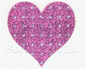 MG-Sparkle LTD Patterned Hearts 2